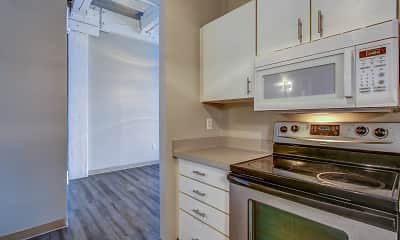 Kitchen, The Apartments At Nautica, 1