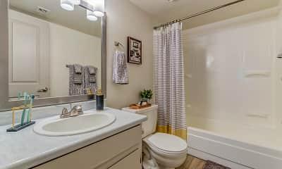 Bathroom, Wynn Palms Apartments, 2