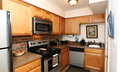 Kitchen, The Jamestown Apartments, 0