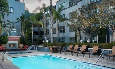 Pool, Avalon Encino, 0