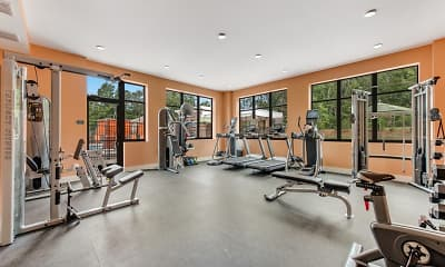 Fitness Weight Room, Ardmore at Price, 2