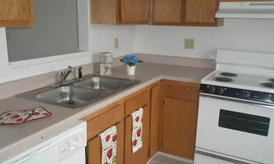 Kitchen, Bay Pointe Townhomes, 1