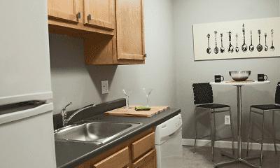 Kitchen, Korman Residential at The Villas, 1