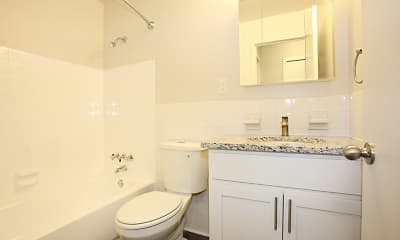 Bathroom, Linden House West, 2