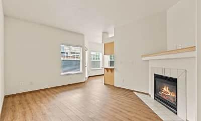 Living Room, Cascade View Apartments, 1