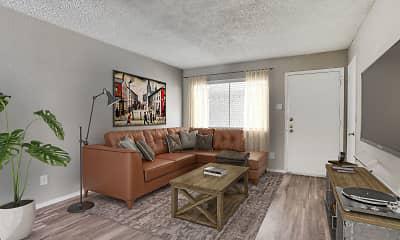 Living Room, Luna Blanca, 0