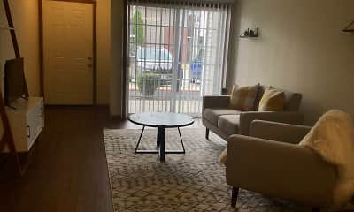 Living Room, Turnberry Village Apartments, 1