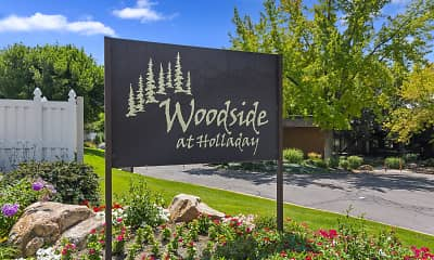 Community Signage, Woodside at Holladay, 0