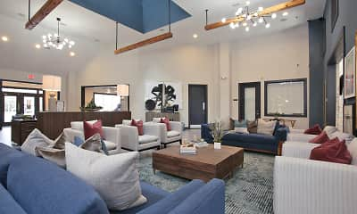 Living Room, The Blue Apartments, 1