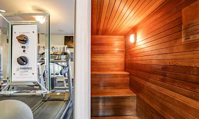 Fitness Weight Room, Trinity Square, 2