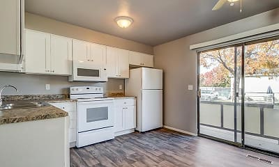 Kitchen, Aspen Cove Townhomes, 0