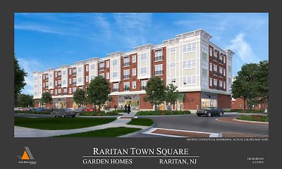 Building, The Residences at Raritan Town Square, 2