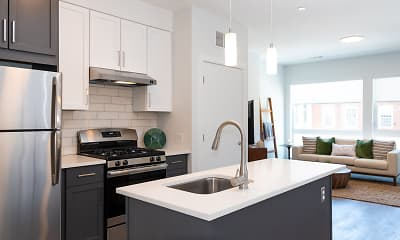 Kitchen, Union and West, 1
