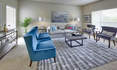 Living Room, Barton Creek Villas, 1