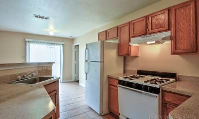 Kitchen, Lexington Arms, 1
