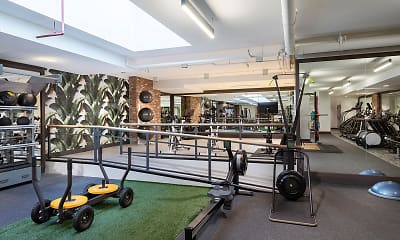 Fitness Weight Room, i5 Union Market by Common, 2