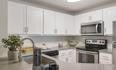 Kitchen, Centro Apartments, 0