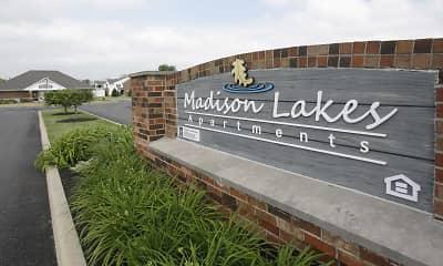 Community Signage, Madison Lakes, 1