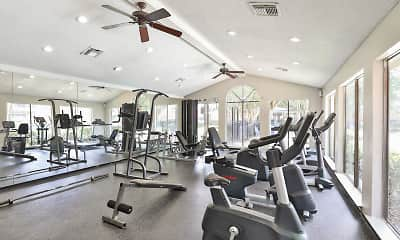 Fitness Weight Room, Westmount at Summer Cove, 2