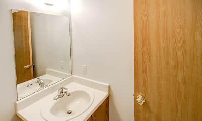 Bathroom, University Place Apartments, 2