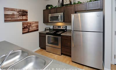 Kitchen, North Highlands Apartments, 0