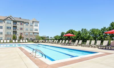 Pool, Spring View Apartments, 0