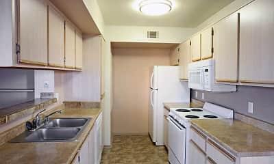 Kitchen, Adobe Highlands, 1