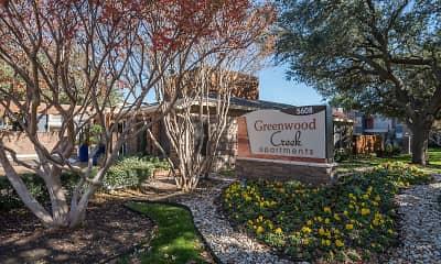 Community Signage, Greenwood Creek, 2