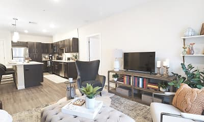 Living Room, The Residences at Executive Park, 0
