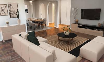 Living Room, Cedarvale Highlands, 1