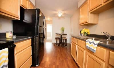 Kitchen, Holland Crossing Apartments, 1