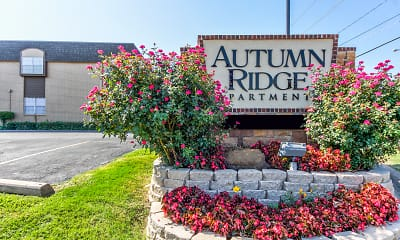Community Signage, Autumn Ridge, 1
