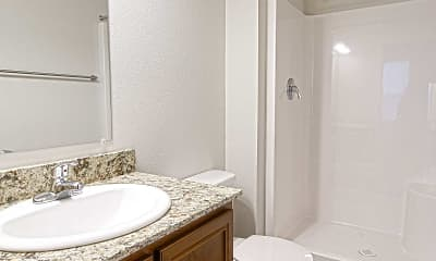 Bathroom, River Valley Terrace, 2