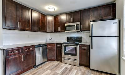 Kitchen, Apartments at Newpointe, 2