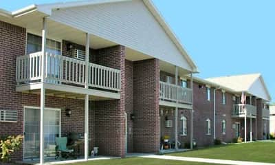 Building, Deerbrook Apartments, 0