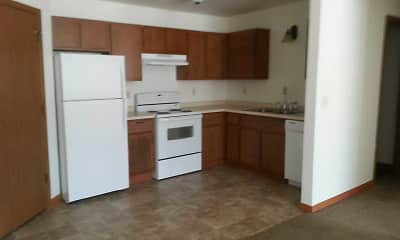 Kitchen, Paradise Place Apartments, 2