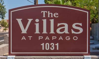 Community Signage, Villas at Papago Apartments, 2