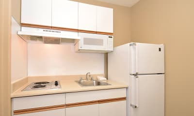 Kitchen, Furnished Studio - Seattle - Redmond, 1
