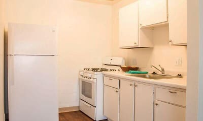 Kitchen, Hayden Square, 1