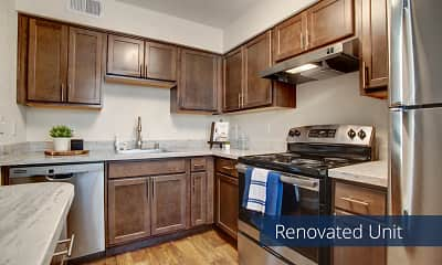 Kitchen, Indigo Apartment Homes, 1