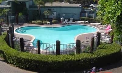 Pool, Cedar Shores Apartments, 1