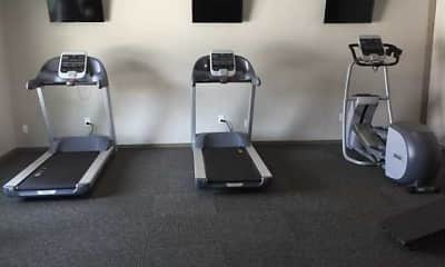 Fitness Weight Room, Alpine Village, 2