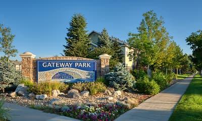 Community Signage, Gateway Park, 2