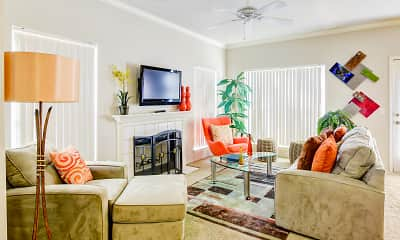 Living Room, Arboretum at South Mountain, 1