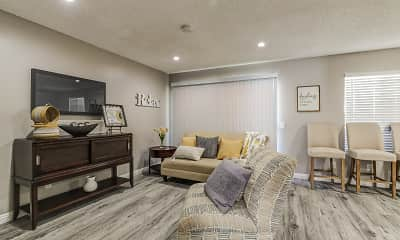 Living Room, Citrus Grove Apartments, 1