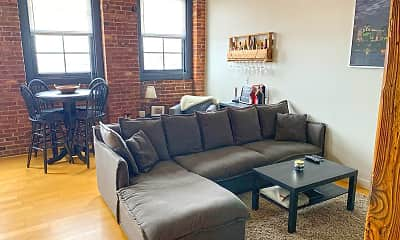Living Room, M Lofts, 2