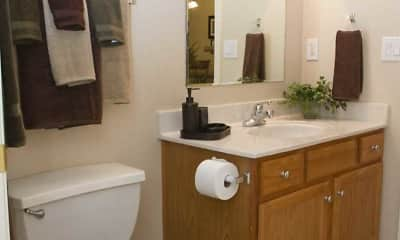 Bathroom, Lighthouse Apartments At Pebble Creek, 2