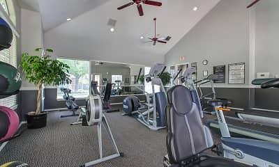 Fitness Weight Room, Adagio at Corner Canyon, 2