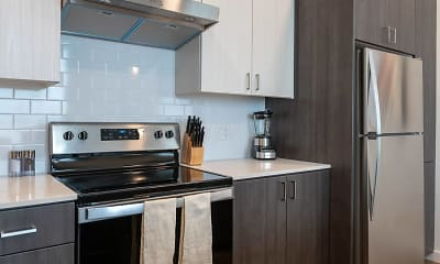 Kitchen, The Gordon Lofts, 0