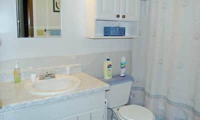 Bathroom, Silver Oaks Court Apartments, 2